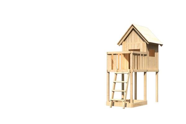 Spielhaus Frieda mit Anbau