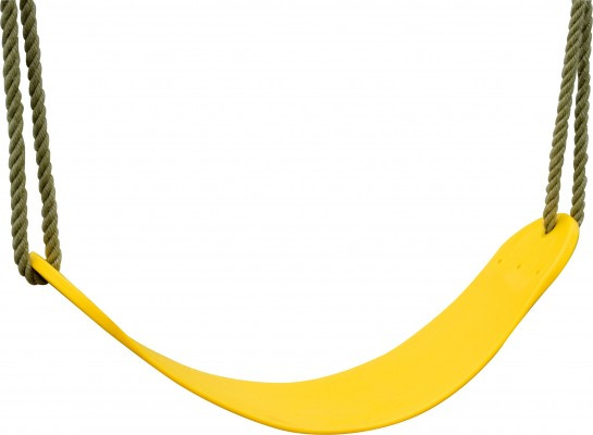 akubi flexschaukel gelb