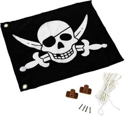 Akubi Fahne Prinzessin und Pirat