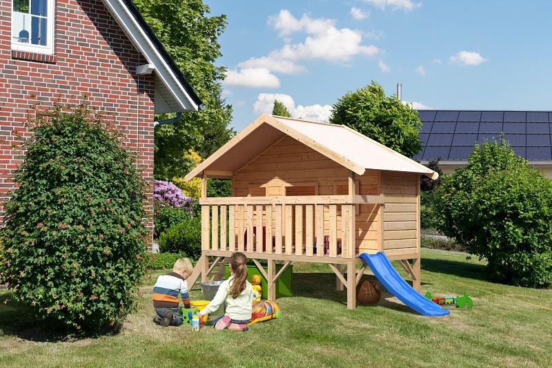 Sicherheit im Garten Kinderspielgeräte