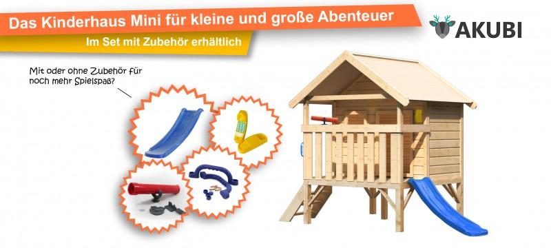 Spielhaus Mini im Set